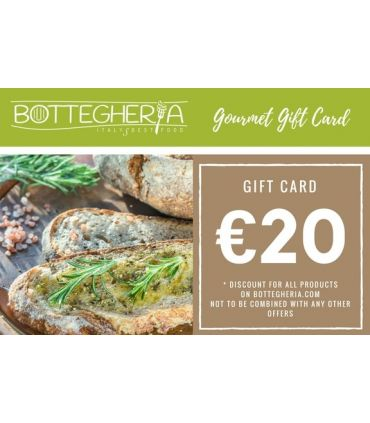 Food gift cards 20